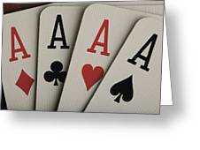 Four Aces Studio Greeting Card