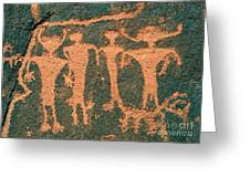 Four Anasazi Greeting Card