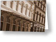 Four Corners In New Orleans Greeting Card