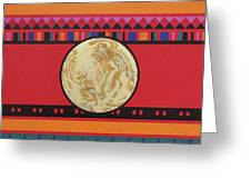Four Corners - Seminole Greeting Card