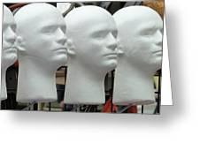 Four Heads Are Better Than One Greeting Card