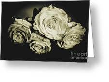 Four Roses Greeting Card