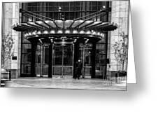 Four Seasons Hotel New York Greeting Card