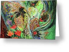 Four Seasons Of Vine Summer Greeting Card