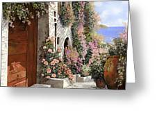 four seasons- spring in Tuscany Greeting Card