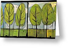 Four Seasons Tree Series Greeting Card