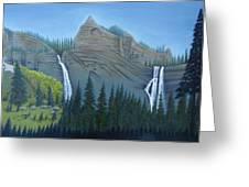 Fourmile Falls And Fall Creek Falls Greeting Card