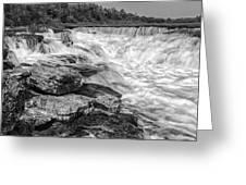 Fourth Chute Falls Greeting Card