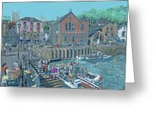 Fowey Cornwall Greeting Card