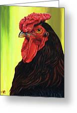 Fowl Emperor Greeting Card
