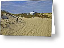 Fowler Shack Approach Greeting Card