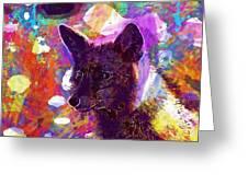 Fox Animal Tuscany  Greeting Card