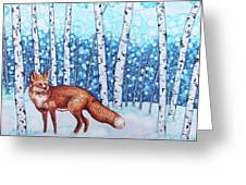 Fox Forest Greeting Card