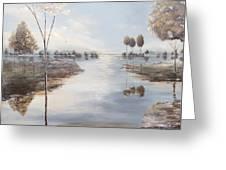 Fox Lake Greeting Card
