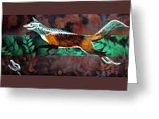 Fox Run Greeting Card
