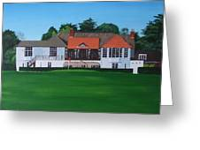 Foxrock Golf Club Greeting Card