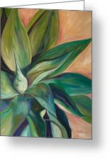 Foxtail Agave 4 Greeting Card by Athena  Mantle