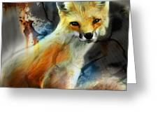 Foxy Baby Greeting Card