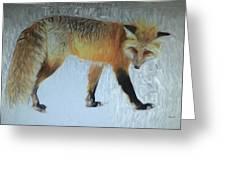 Foxy Lady  Greeting Card