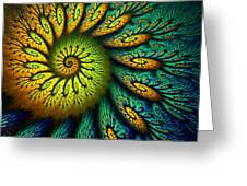 Fractal Abstract 061710 Greeting Card