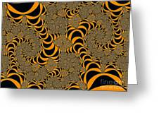 Fractal Abstract Greeting Card