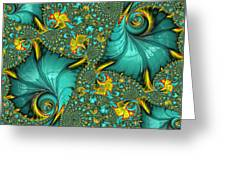 Fractal Art - Gifts From The Sea By H H Photography Of Florida Greeting Card