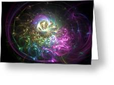Fractal Consciousness. Greeting Card