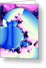 Fractal Cornucopia Greeting Card