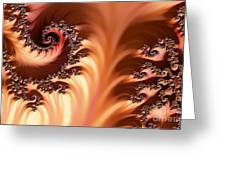 Fractal Desert Greeting Card
