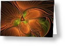 Fractal Design  -d- Greeting Card