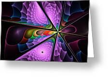 Fractal Design  -g- Greeting Card