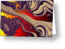 Fractal Fill Greeting Card