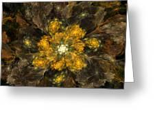 Fractal Floral 02-12-10 Greeting Card