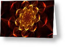 Fractal Floral 062610a Greeting Card