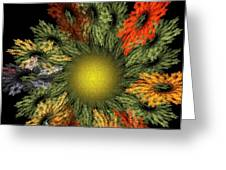 Fractal Floral 12-05-09 Greeting Card