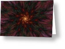 Fractal Floral Fantasy 02-13-10-b Greeting Card