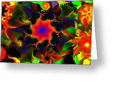 Fractal Garden 15 Greeting Card