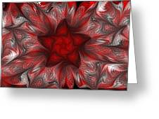 Fractal Garden 3 Greeting Card