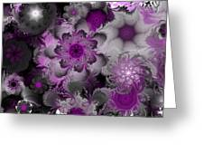 Fractal Garden 4 Greeting Card