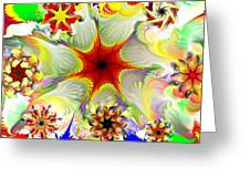 Fractal Garden 9 Greeting Card