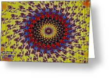 Fractal Outburst Catus 1 No. 10 - Sunsettia For Lea H A Greeting Card