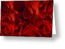 Fractal Parapluie Greeting Card