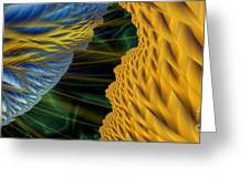 Fractal Storm Greeting Card