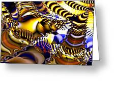 Fractal Structures Greeting Card