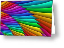 Fractalized Colors -8- Greeting Card