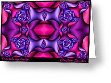 Fractals By Design Greeting Card