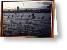 Frame Building Greeting Card