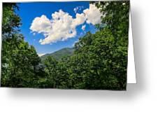 Frame Me A Cloud Greeting Card