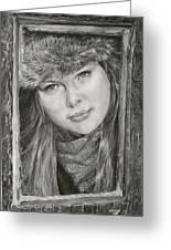 Framed - After Maureen Killaby Greeting Card