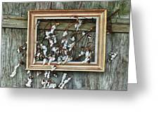 Framed Cotton Greeting Card